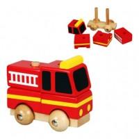 Szétszedhető tűzoltóautó (kicsi)