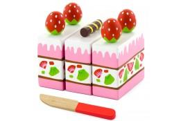 Epres kocka - játék sütemény
