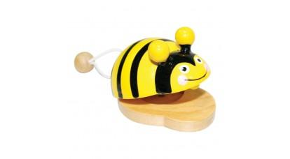Kasztenyetta állatfigurás (méhecskés)